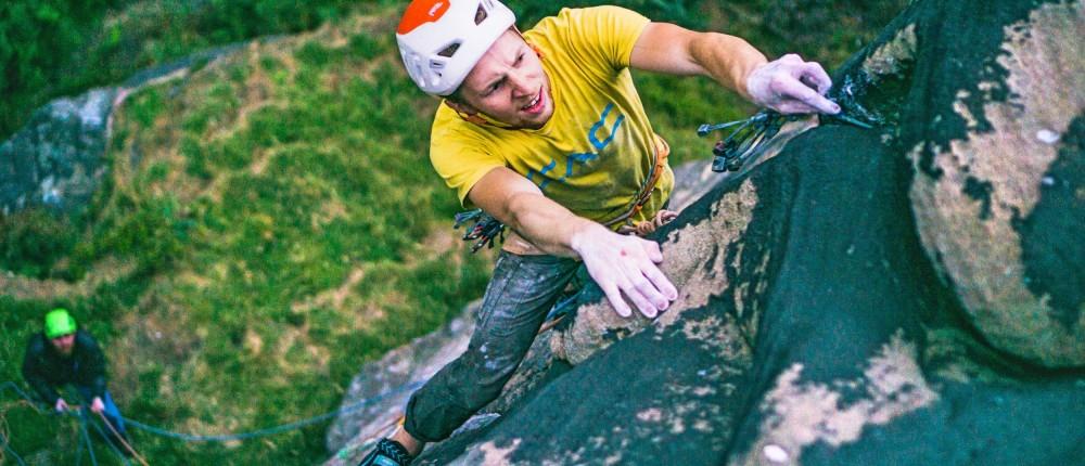 Matt climbing instructor