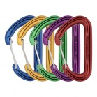 DMM phantom snap gate carabiner 5 pack